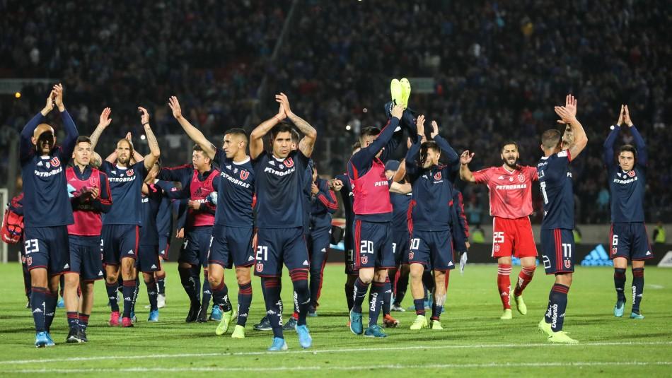 La U lidera el ranking de partidos con más asistencia de público en el fútbol chileno durante 2019
