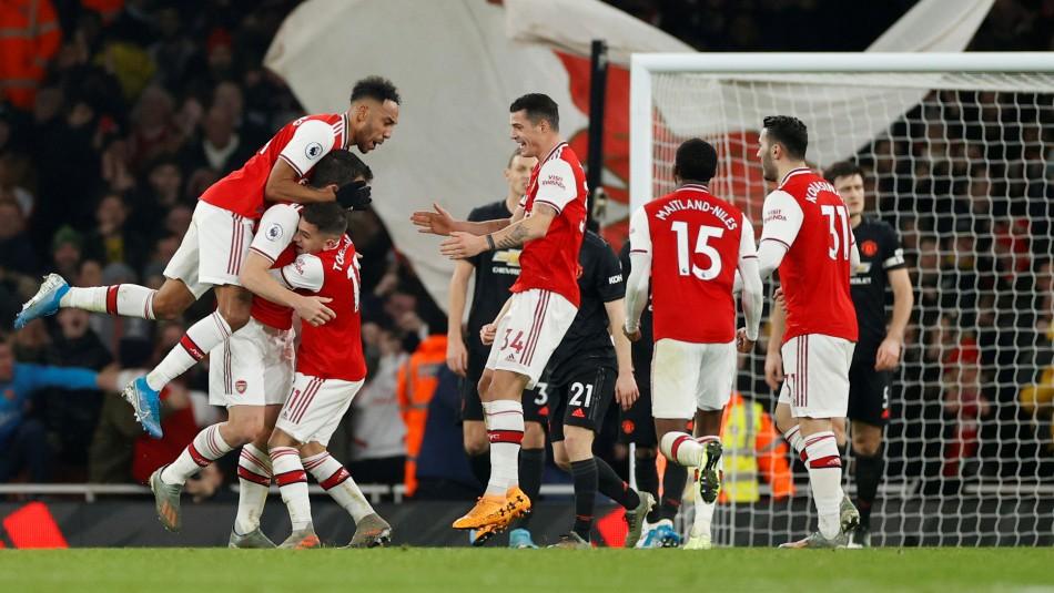Arsenal derrota a Manchester United en jornada del 1 de enero en la Premier League