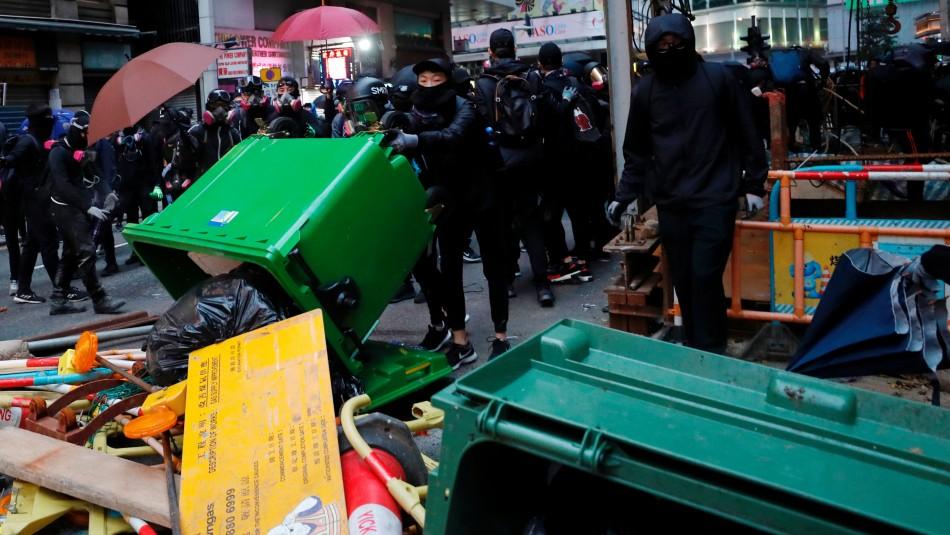 Más de un millón de personas en las calles en manifestación prodemocracia en Hong Kong