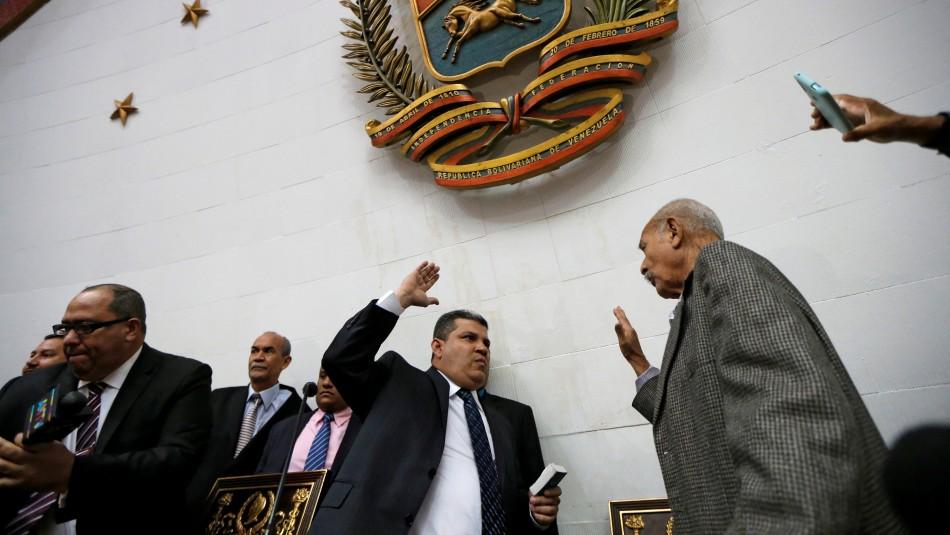 Venezuela: Diputado rival de Guaidó se autoproclama presidente del Parlamento
