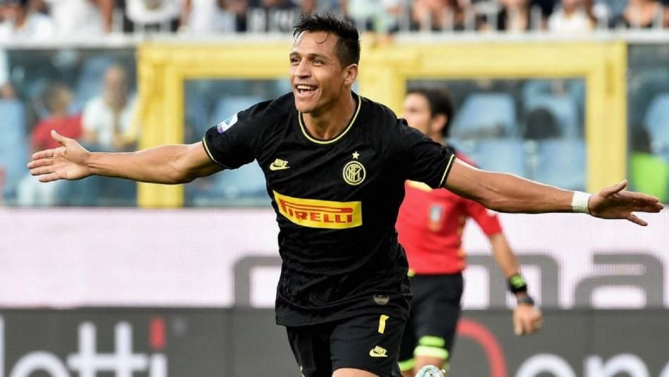 Sigue el partido del Inter de Alexis Sánchez vs. Atalanta por la Liga Italiana - Meganoticias