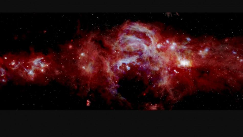 Impresionante imagen de la NASA: Así se ve el núcleo de la Vía Láctea