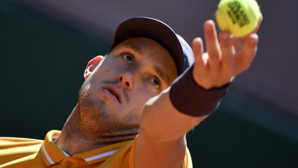 Nicolás Jarry suspendido provisionalmente por la Federación de Tenis por dopaje