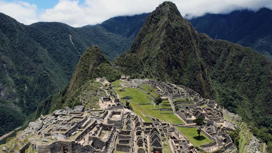 Chileno detenido por daños en Machu Picchu será expulsado de Perú