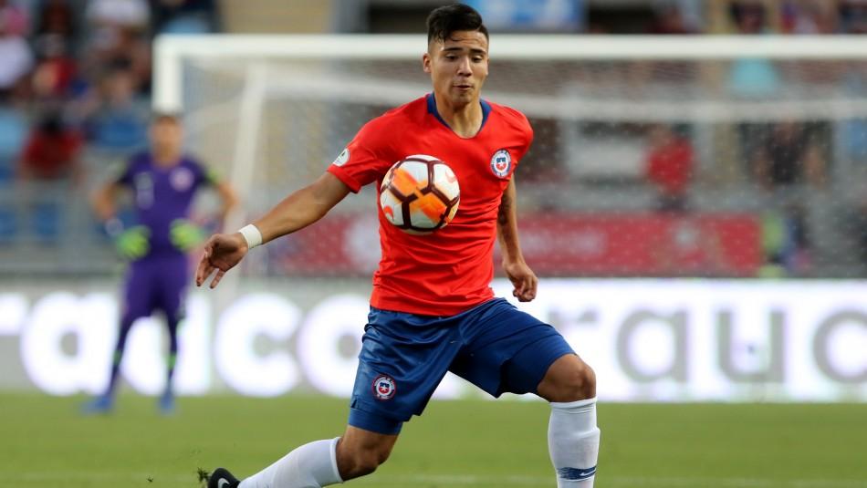 Nicolás Díaz se une a Colo Colo.