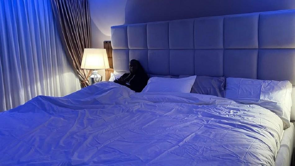 Lukaku recibe una serie de bromas en el Inter de Milán por su llamativa cama gigante