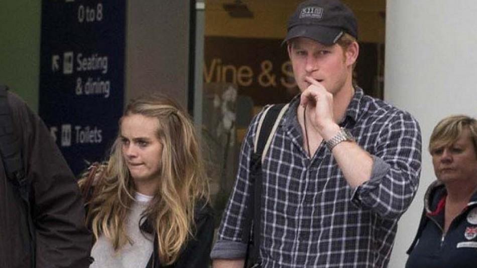 Ex polola de Harry se pronuncia sobre la situación actual del príncipe con la familia real