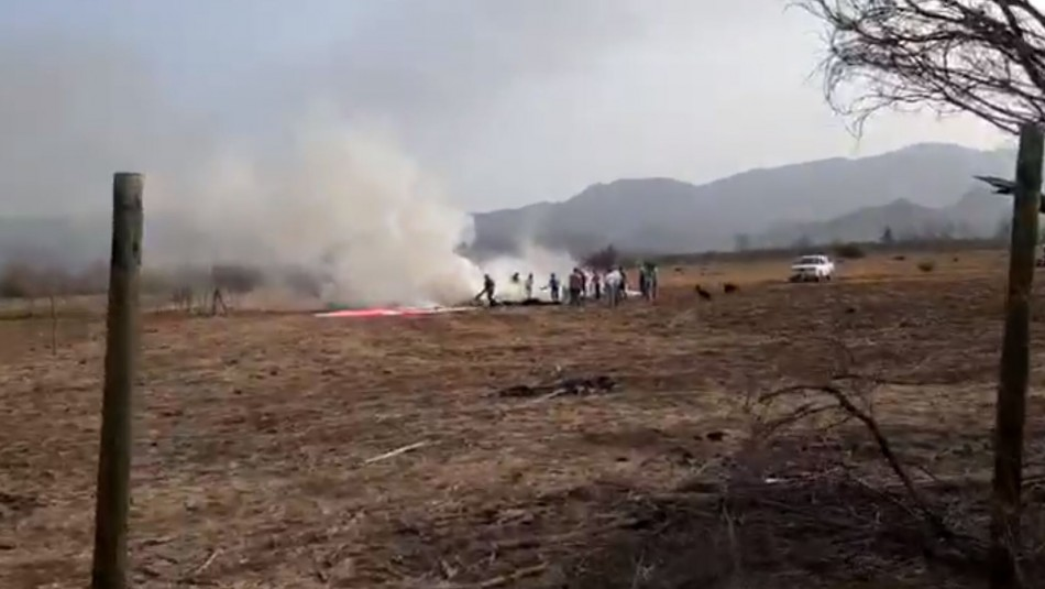 Confirman fallecimiento de ocupantes de avioneta caída en Colina