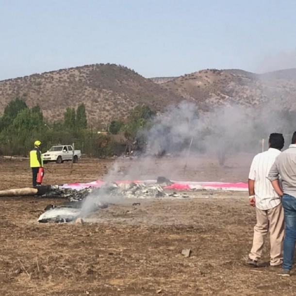 Confirman identidades de los fallecidos en accidente de avioneta en Colina