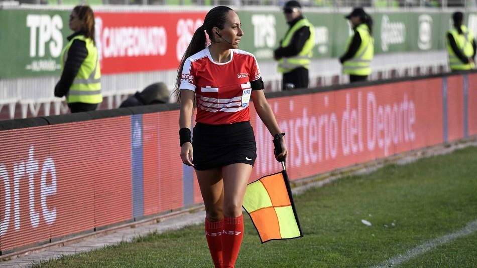 Conoce a Cindy Nahuelcoy: La primera árbitra que dirigirá en Primera División en Chile