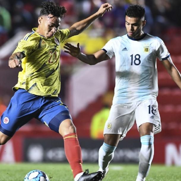 Sigue el partido de Colombia vs. Argentina en su debut en el torneo Preolímpico