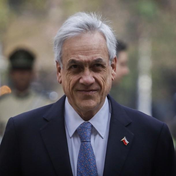 Presidente Piñera por aprobación de Ley Antisaqueos: