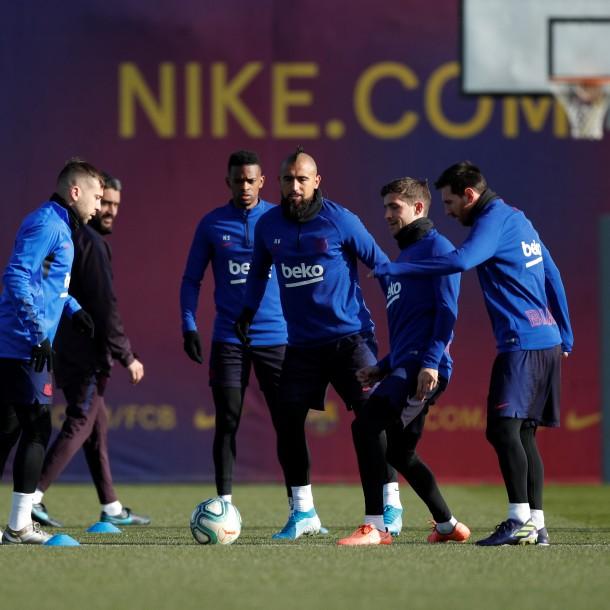 Nuevo DT del Barcelona y Vidal:
