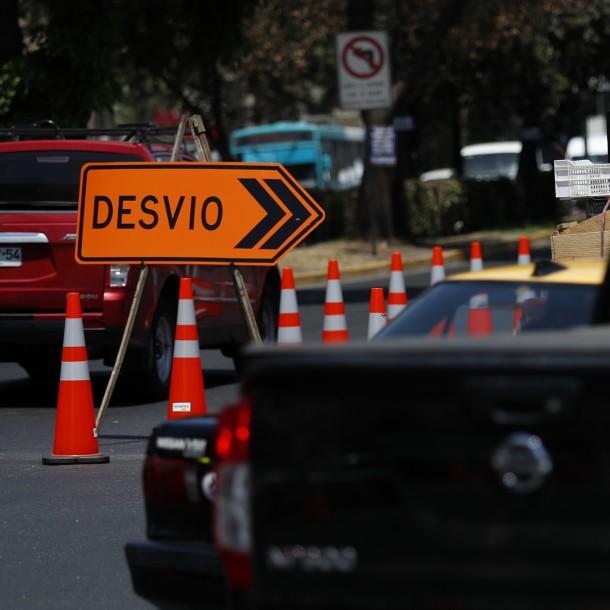 Fórmula E en Parque O'Higgins: Conoce los desvíos para automóviles y buses del transporte público
