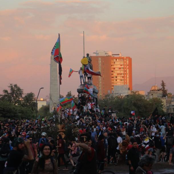 Mesa de Unidad Social realizó balance a tres meses del inicio del estallido en Chile