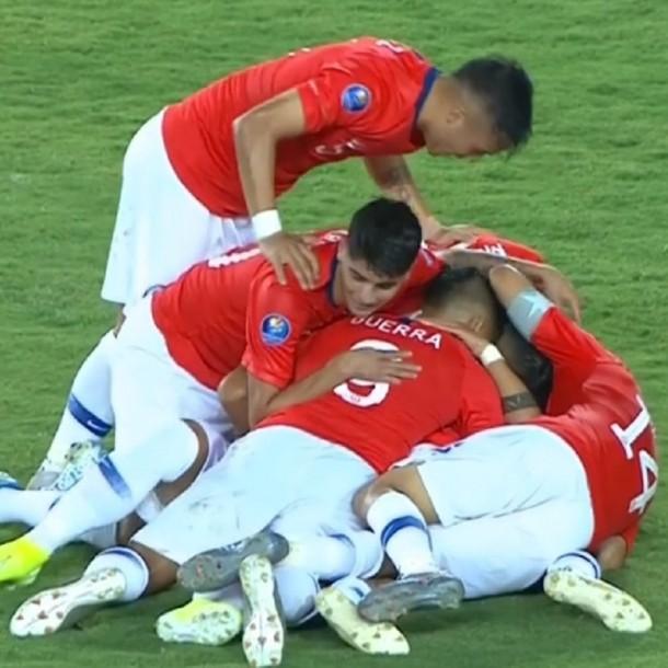Selección Chilena Sub 23 debuta con goleada ante Ecuador en el Preolímpico de Colombia
