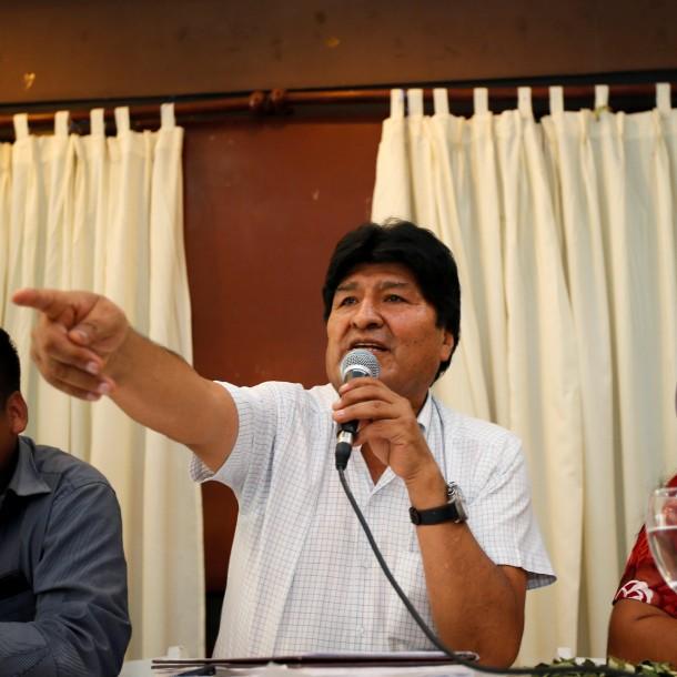 Evo Morales anuncia que exministro será candidato a la presidencia de Bolivia