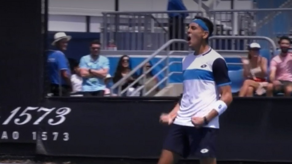 Alejandro Tabilo palpita su debut en el Abierto de Australia: