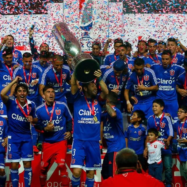 La paternidad de la U ante Colo Colo en Copa Chile: Ganó en las dos finales que disputaron