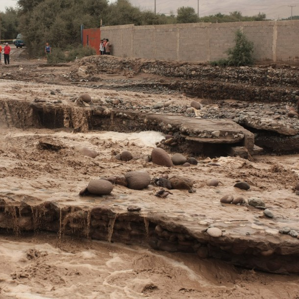 Precipitaciones en el norte dejan 60 personas aisladas y cortes de rutas
