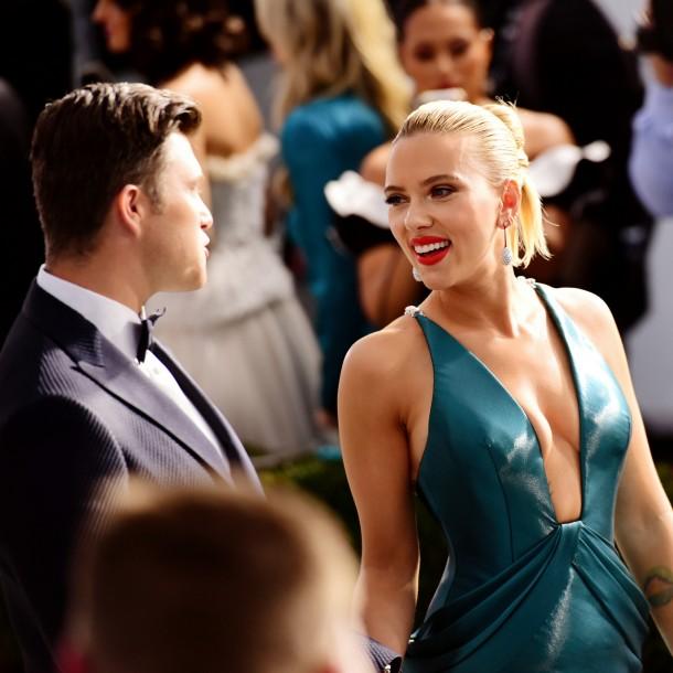 Fotos: Los detalles del look de Scarlett Johansson en los SAG Awards 2020