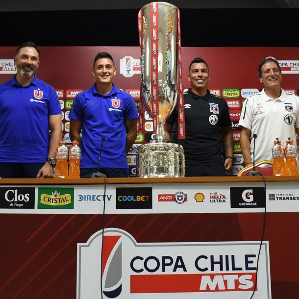 Formaciones para final de Copa Chile: Colo Colo apuesta por Blandi y la U con Montillo de titular