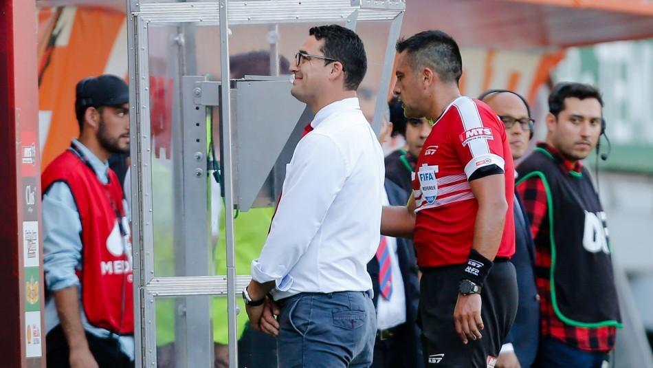 El VAR dijo que no: Así fue la jugada que se desestimó como penal a favor de Colo Colo