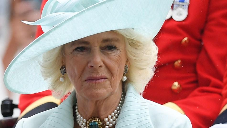 Así reaccionó la esposa del príncipe Carlos cuando le preguntaron por Meghan y Harry
