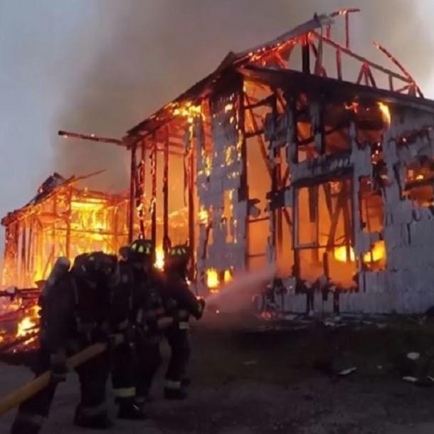 Amplían detención de acusado por incendio de Iglesia San Francisco de Ancud