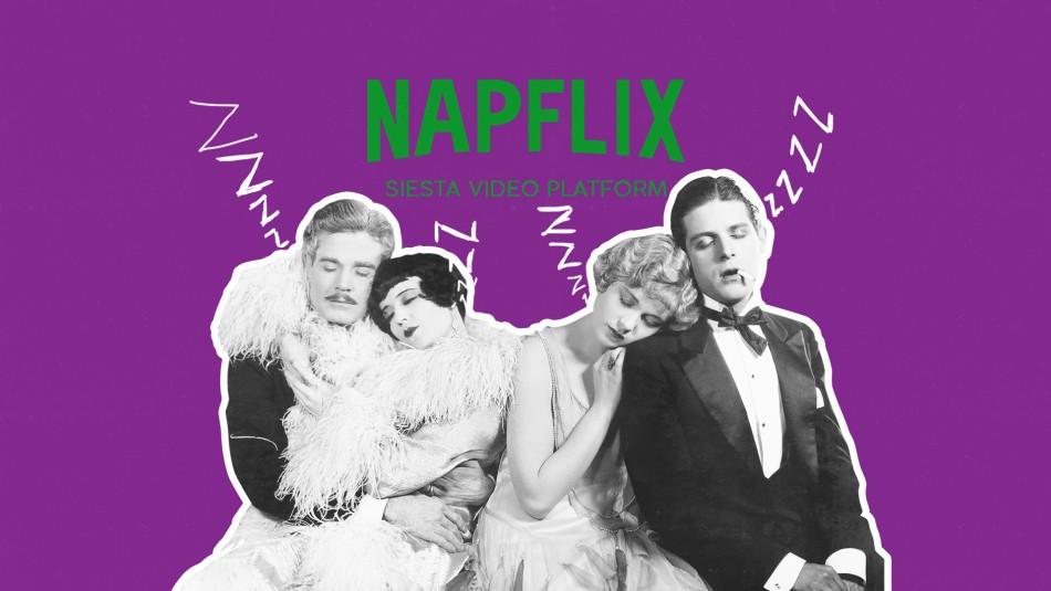 Napflix: el Netflix que te hace mirar los ojitos por dentro