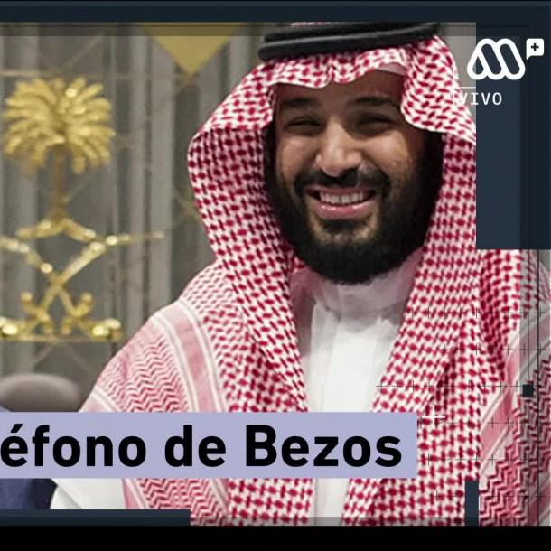 Príncipe heredero saudí señalado como responsable del hackeo del teléfono de Jeff Bezos