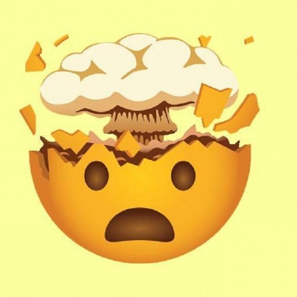 Whatsapp: Conoce el verdadero significado del emoji de la cabeza explotando