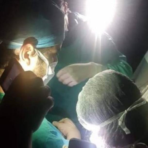 Autoridades aclaran falla en Hospital Barros Luco que obligó a doctores a operar sin luz
