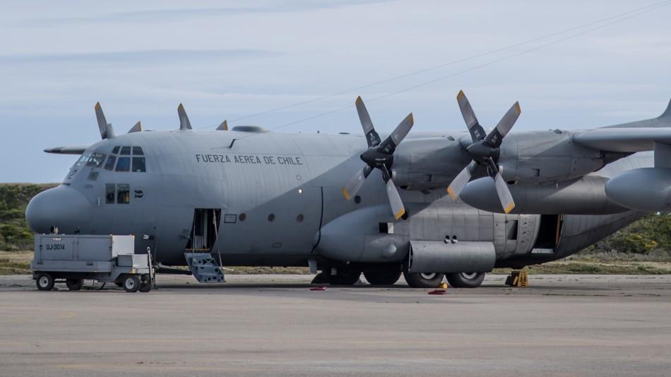 FACh afirma que audio que acusa falla eléctrica en avión Hércules fue entregado a la Fiscalía