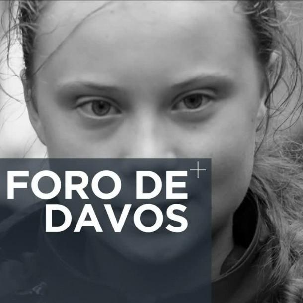 La crisis climática se tomó el Foro Económico Mundial de Davos