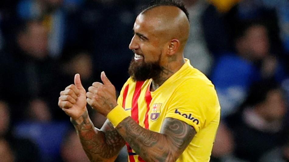 Arturo Vidal vuelve a ser titular en el esquema de Setién en el partido contra el Eibar de Orellana