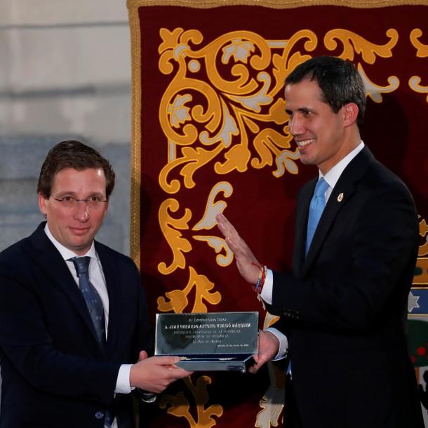 Juan Guaidó llegó a España y no fue recibido por el presidente Pedro Sánchez