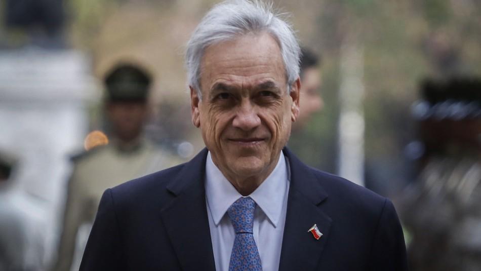 Piñera hace llamado al Congreso por pensiones y