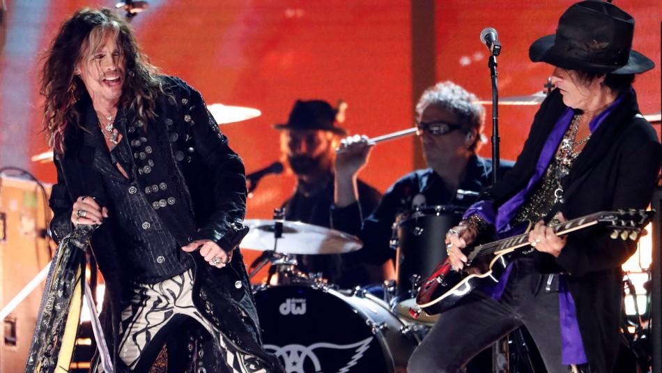 Persona del año: Así fue la presentación de Aerosmith en los Grammy
