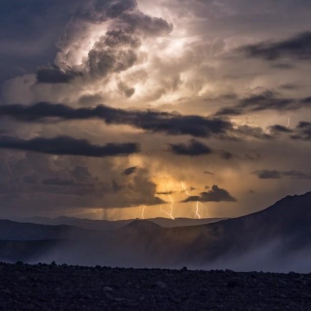Emiten aviso por tormentas eléctricas en cuatro regiones de la zona norte del país