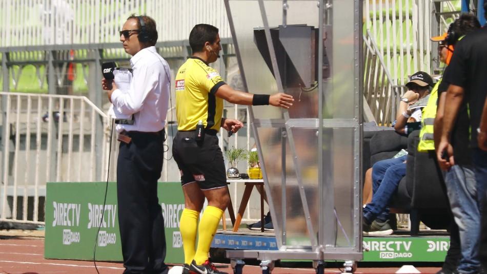 El VAR nuevamente es protagonista: Juez cobra penal a favor de la UC ante Wanderers