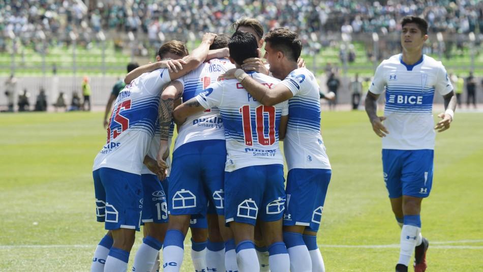 La UC debuta con un categórico triunfo ante Wanderers con goles de dos refuerzos
