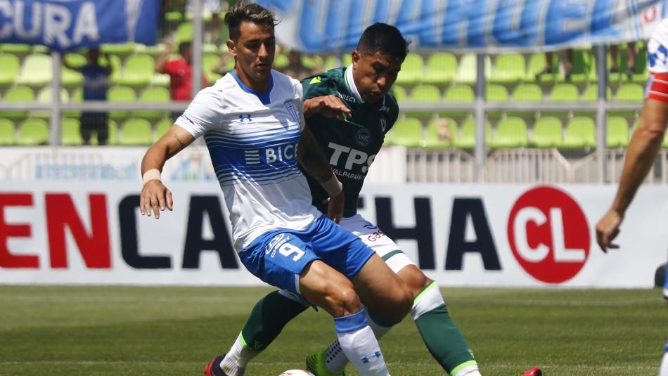 Sigue el partido Wanderers vs. Universidad Católica: En vivo, tabla y formaciones ¡GOL!