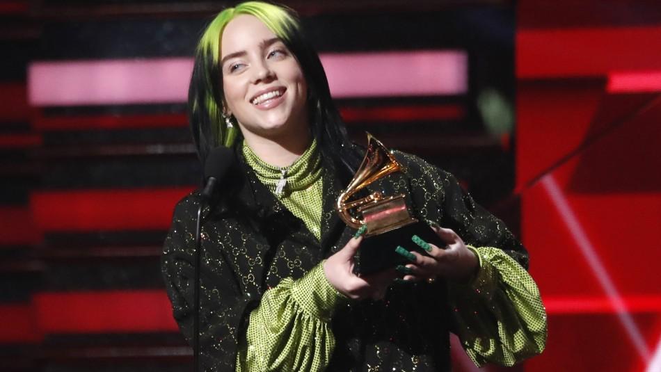 Billie Eilish hace historia: Revisa todos los ganadores de los Grammy 2020