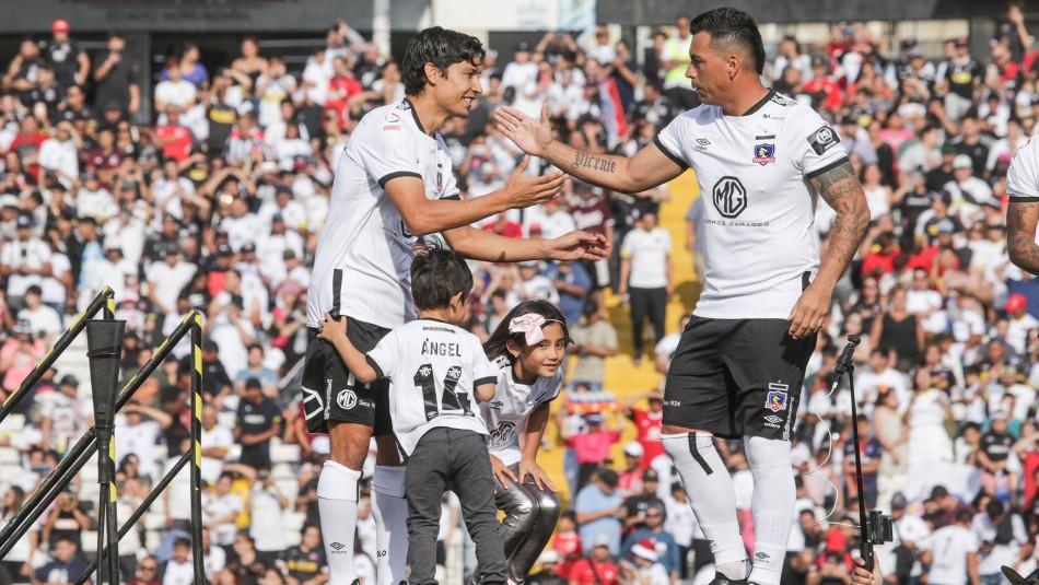 Esteban Paredes lidera formación de Colo Colo para debut en el Torneo ante Palestino