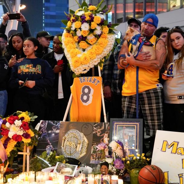 Identifican a las 9 víctimas del siniestrado helicóptero en que murió Kobe Bryant