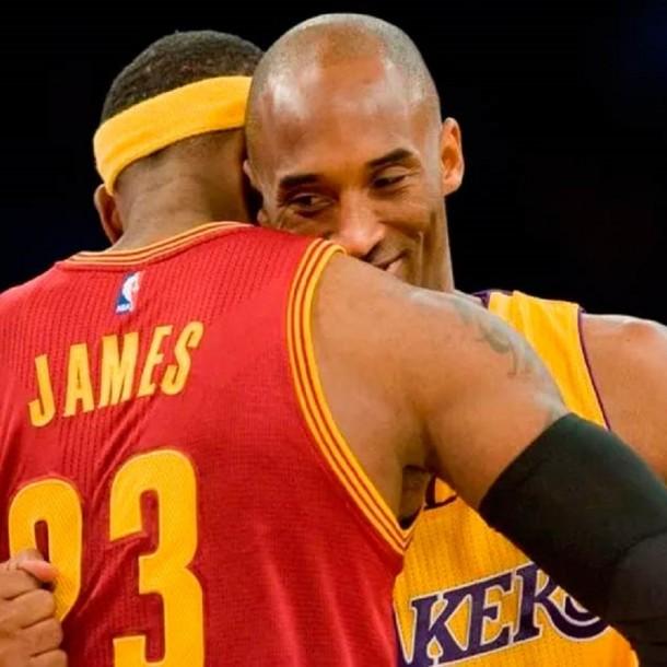 El momento en que LeBron James se entera de la muerte de Kobe Bryant