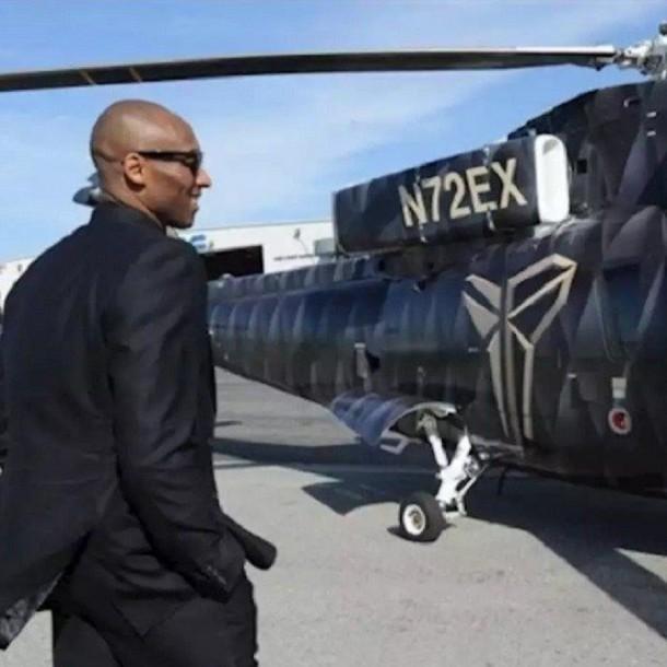 El motivo familiar que llevó a Kobe Bryant a viajar en helicóptero