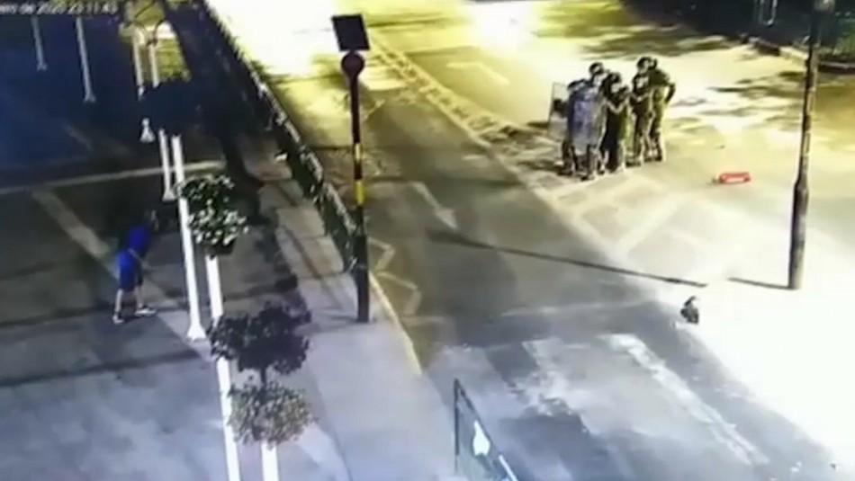 Resultado de imagen para Ataque a comisaría en huechuraba
