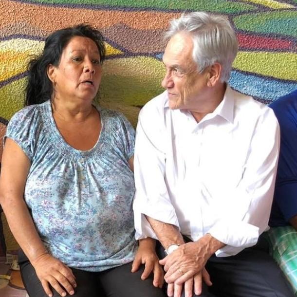 Piñera llega a región de Atacama y decreta estado de catástrofe en comunas afectadas